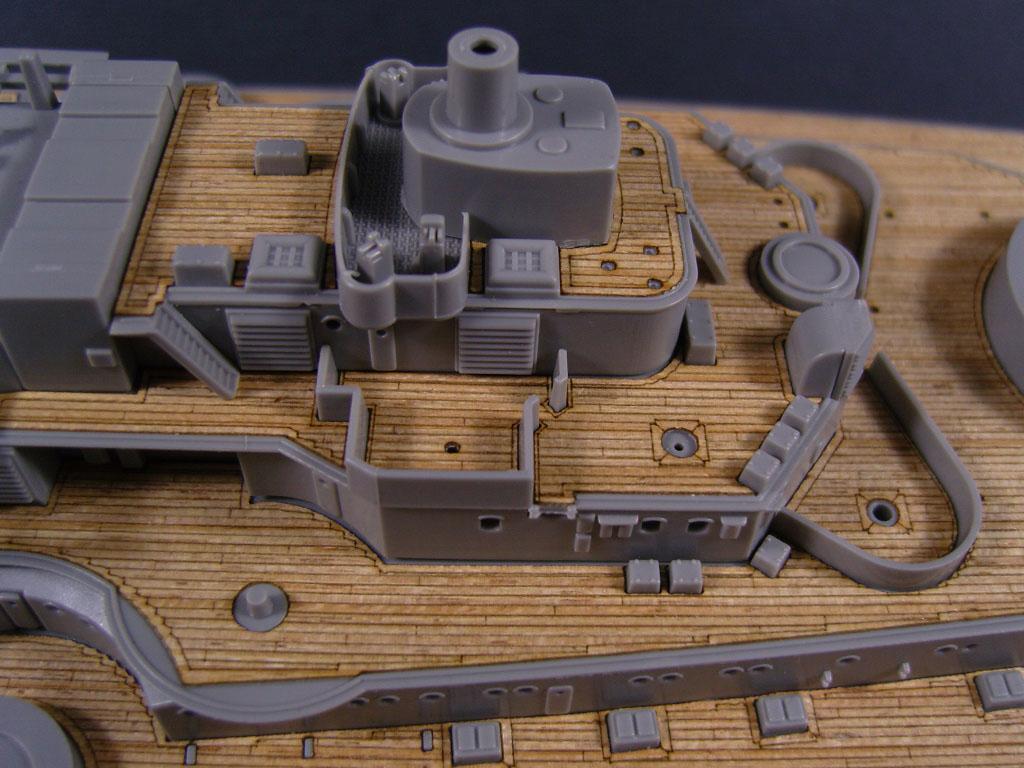 Trumpeter 05306 AW10107 Artwox Holzdeck für 1:350 USS Massachusetts BB-59